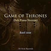 Game of Thrones (Felt Piano) von Basil Jose