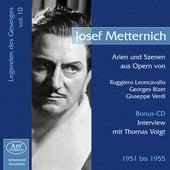 Metternich, Josef: Legenden des Gesanges, Vol. 10 (1951-1955) von Various Artists
