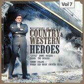 "Milestones of Legends: Country & Western Heroes, Vol. 7 de ""Little"" Jimmy Dickens"