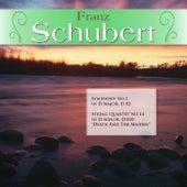 Franz Schubert: Symphony No.1 in D Major, D 82; String Quartet No.14 in D Minor, D.810