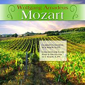 Wolfgang Amadeus Mozart: Clarinet Concerto in A Major, K.622; Concerto for Flute, Harp & Orchestra in C Major, K.299 von Various Artists
