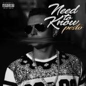 Need To Know de Pesto