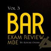 Bar Exam Review MBE, Vol. 3 by Kosuke Onishi