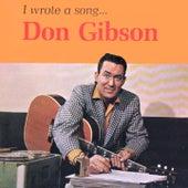 I Wrote A Song... de Don Gibson