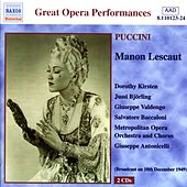 Puccini: Manon Lescaut (Kirsten, Björling) (1949) by Various Artists