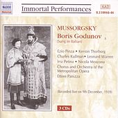 Mussorgsky: Boris Godunov de Various Artists