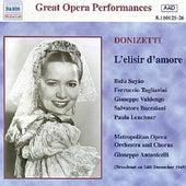 Donizetti: Elisir D'Amore (L') (Metropolitan Opera) (1949) by Various Artists