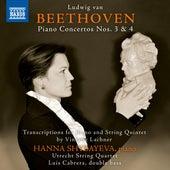 Beethoven: Piano Concertos Nos. 3 & 4 (Arr. V. Lachner for Piano & String Quintet) by Hanna Shybayeva