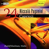 Paganini: 24 Caprices for Solo Violin, Op. 1, MS 25 (Live) by Rudolf Koelman