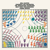 Bartók: Concerto for Orchestra/The Miraculous Mandarin de Pierre Boulez