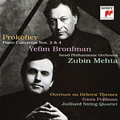 Prokofiev: Piano Concertos Nos. 2 & 4 by Zubin Mehta