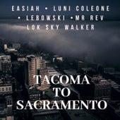 Tacoma to Sacramento von Luni Coleone