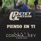 Pienso En Ti (feat. Banda Corona Del Rey) by Petey Quezada