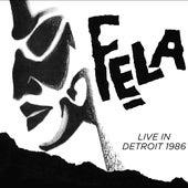 Live in Detroit 1986 von Fela Kuti