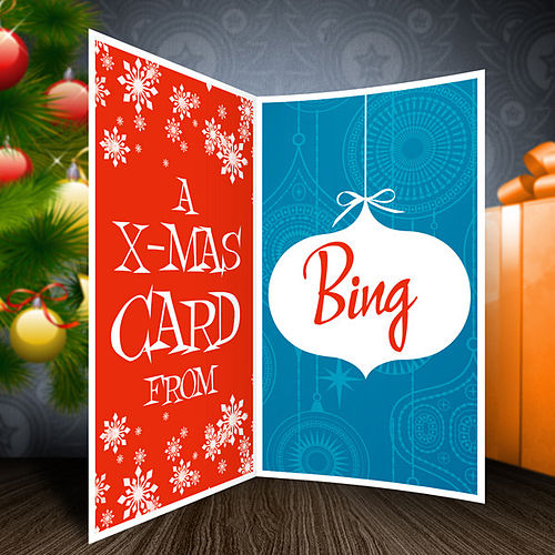 A Christmas Card From Bing by Various Artists