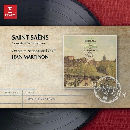 Saint-Saens: Complete Symphonies by Jean Martinon