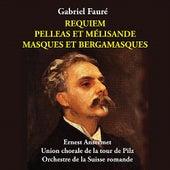 Fauré - Requiem, Pelleas et Mélisande, Masques et Bergamasques [1955] de Suzanne Danco