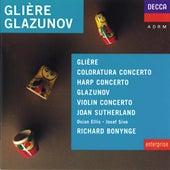 Glière/Glazunov etc: Harp Concerto/Concerto for Coloratura Soprano etc by Various Artists