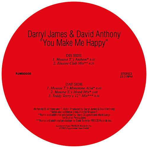 You Make Me Happy by Darryl James
