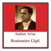 Italian arias de Beniamino Gigli