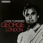 A Voice to Remember de George London