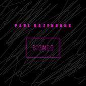 Signed by Paul Hazendonk