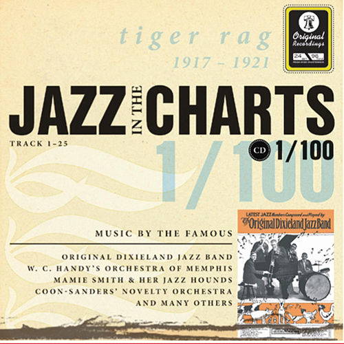 Jazz in the Charts Vol. 1 (1917 - 1921) by Various Artists