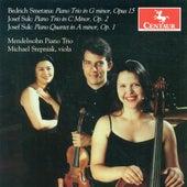 Smetana, B.: Piano Trio, Op. 15 / Suk, J.: Piano Trio, Op. 2 / Piano Quartet, Op. 1 by Various Artists