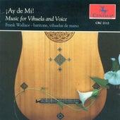 Vocal and Lute Music (16Th Century Spanish) - Narvaez, L. De / Milano, F. Da / Milan, L. De / Mudarra, A. De / Valderrabano, A. De (Ay De Mi) by Frank Wallace
