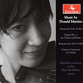 Martino: Violin Sonata - Violin Sonata No. 2 - Romanza - Fantasy Variations by Various Artists