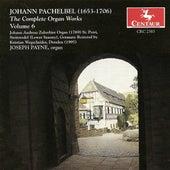 Pachelbel, J.: Organ Music (Complete), Vol. 6 de Joseph Payne