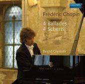 Chopin: 4 Ballades - 4 Scherzi by Bernd Glemser