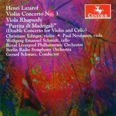 Lazarof, H.: Violin Concerto / Viola Rhapsody / Partita Di Madrigali by Various Artists