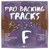Pro Backing Tracks F, Vol.4 by Pop Music Workshop