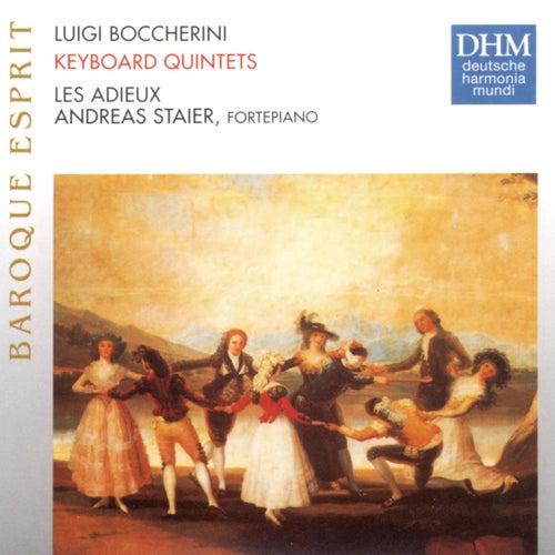 Boccherini: Keyboard Quintets G415, G412, G418, G410 by Les Adieux