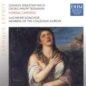 Telemann: Trauerkantate / J.S. Bach: Actus Tragicus de Elly Ameling