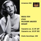 Mozart: Piano Concertos, K. 467 & 503 de Maria Tipo