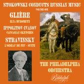 Stokowski Conducts Russian Music, Volume 1: Glière, Ippolitov-Ivanov, Stravinsky by Leopold Stokowski