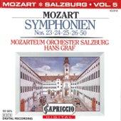 Mozart: Symphonien Nos. 23, 24, 25, 26, 50 by Hans Graf