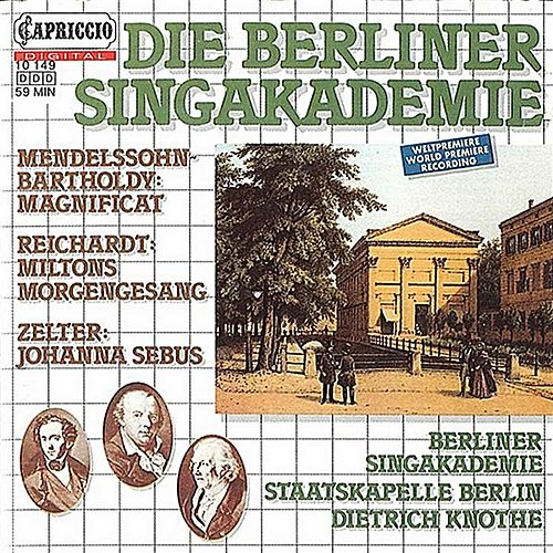 Die Berliner Singakademie by Various Artists