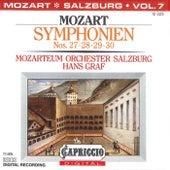 Mozart: Symphonien Nos. 27, 28, 29, 30 by Hans Graf