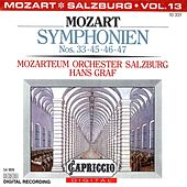 Mozart: Symphonien Nos. 33, 45, 46, 47 de Hans Graf