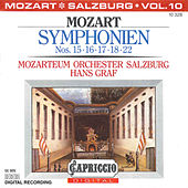 Mozart: Symphonien Nos. 15, 16, 17, 18, 22 by Hans Graf