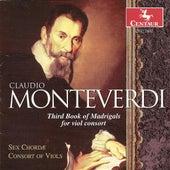 Monteverdi, C.: Madrigals for Viol Consort, Book 3 (Sex Chordae Consort of Viols, Dorenburg) de John Dornenburg