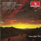 Schumann, R.: Piano Trios (Complete) / Marchenbilder / 5 Pieces in Folk Style / Fantasiestucke / 3 Romanzen by Various Artists