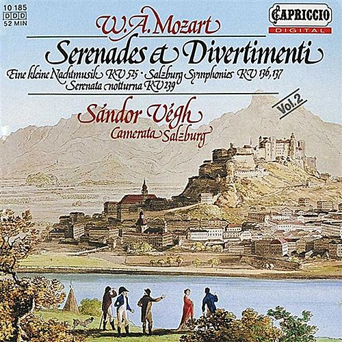 Mozart: Serenades & Divertimenti, Vol. 2 by Sandor Vegh