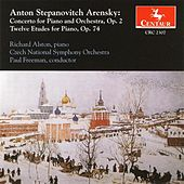 Arensky, A.S.: Piano Concerto in F Minor / 12 Etudes de Various Artists