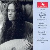 Weiss, S.L.: Dresden Manuscript (The), Vol. 1 - Lute Sonatas Nos. 1-4 by John Schneiderman