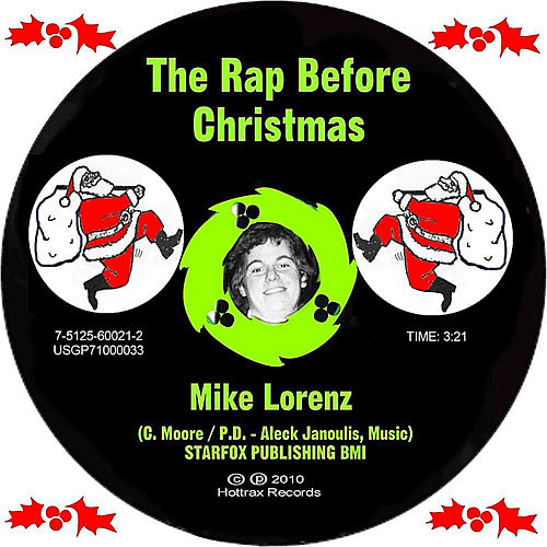 The Rap Before Christmas by Mike Lorenz
