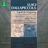 Dallapiccola: Canti di prigionia, Frammenti di Saffo ed altre opere vocali de Hans Zender